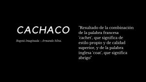 Cachaco